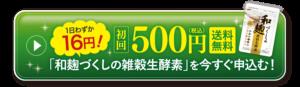 和麹づくしの雑穀生酵素500円